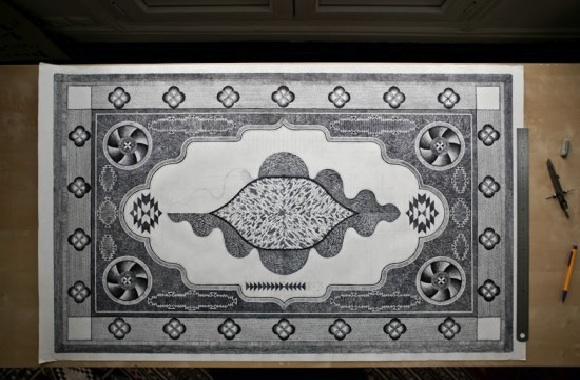 Would You Create Your Own Carpet With Pencil? This Guy Did!