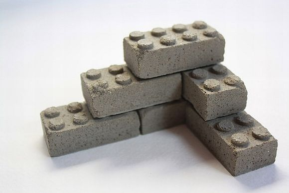 ConcreteLegos Concrete Lego Blocks Are The Real Deal
