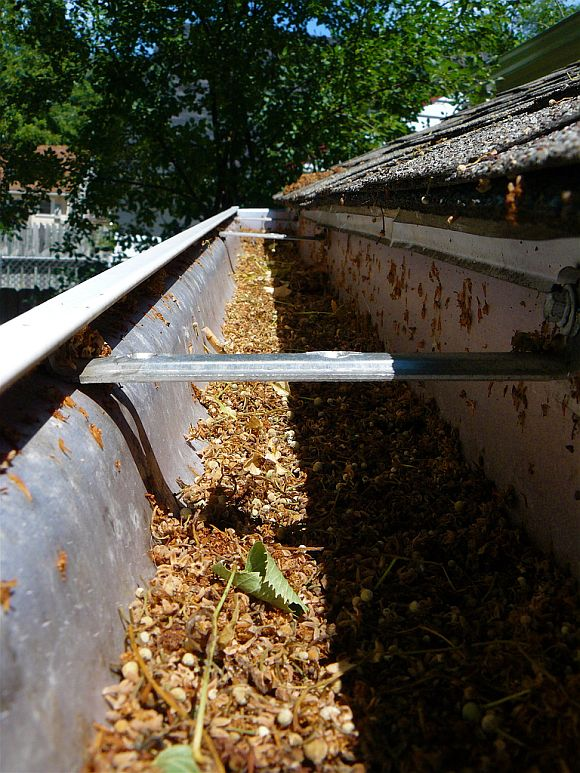 DirtyGutters Keep Your Gutters Debris Free With Gutter Filler