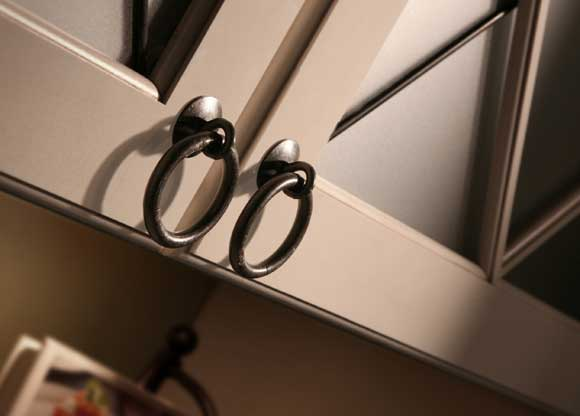 Metal Ring Knob Artisan Cabinet Hardware Now at The Home Depot