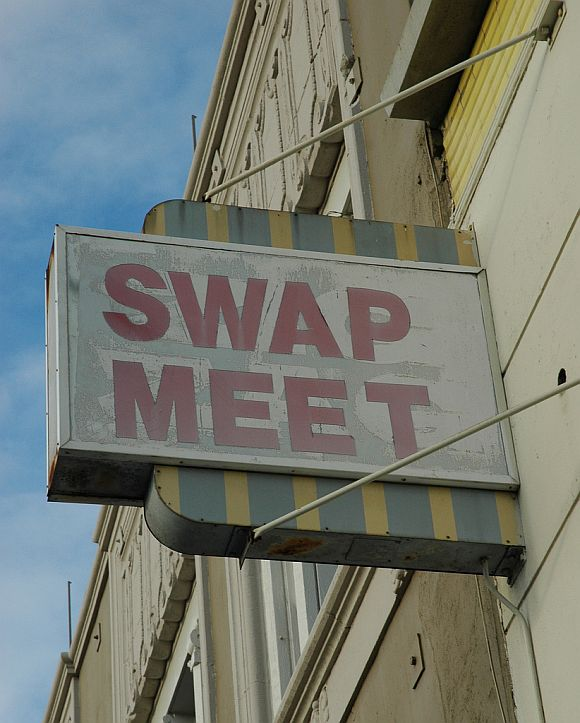 SwapMeetSign Host A DIY Swap Meet