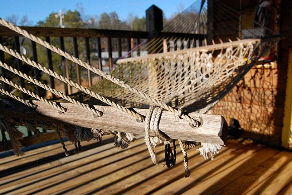 Install A Hammock For The Best Sleep Ever