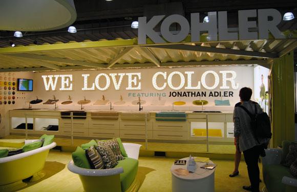adler kohler icff Jonathan Adler & KOHLER: A Match Made in Color