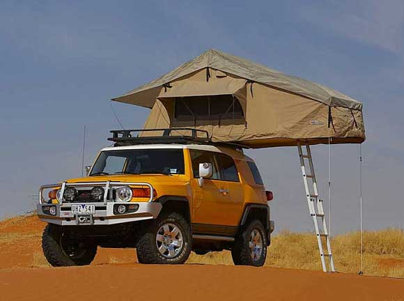 arb rooftop tent Car Camping with an ARB Rooftop Tent