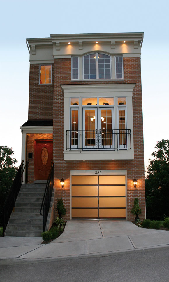 What 39 s new in garage door designs and materials for Best row house designs