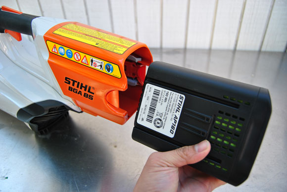 battery stihl STIHL BGA 85 Electric Blower is Storming the Industry