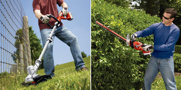 Spring Giveaway: Cordless Outdoor Power Tools from Black & Decker