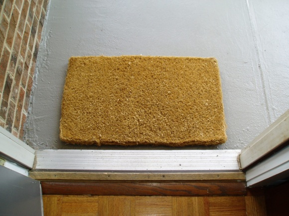 blank doormat DIY A One Of A Kind Doormat
