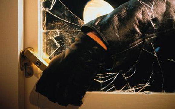 burglar break window How Safe is Your Home from Burglary?
