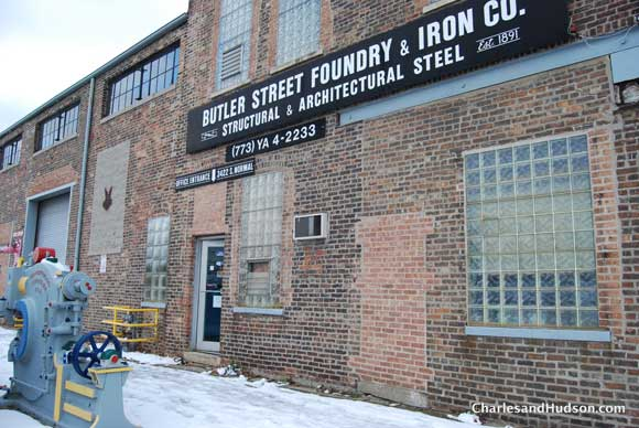 butler street foundry front Inside a Chicago Woodshop   Untouched for 65 Years