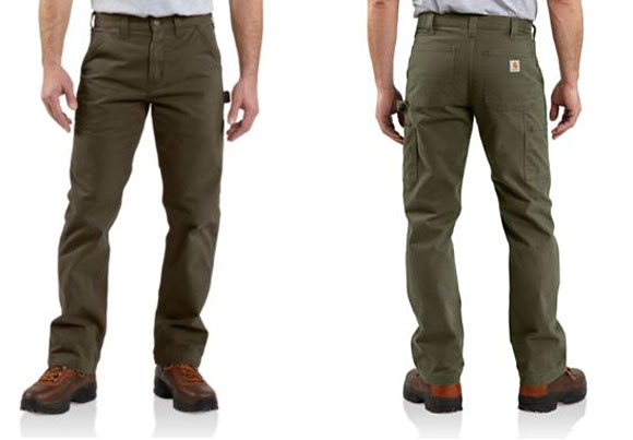 carharrt twill pants Carhartt Washed Twill Dungaree Work Pants