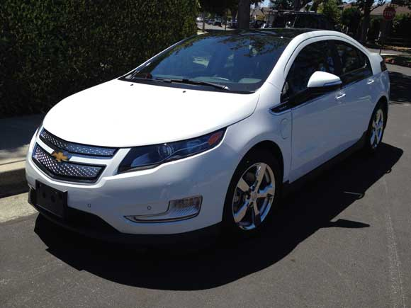 chevy volt electric car The Chevy Volt Will Change Your Attitude About Electric Cars