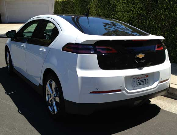 chevy volt rear The Chevy Volt Will Change Your Attitude About Electric Cars