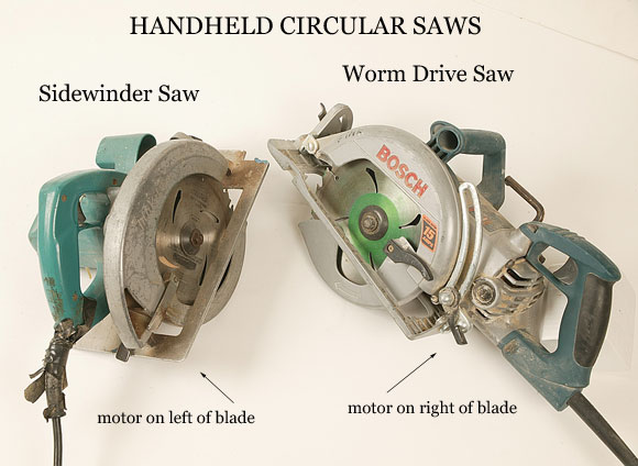 What Type of Circular Saw Do You Use? Sidewinder or Worm Drive?