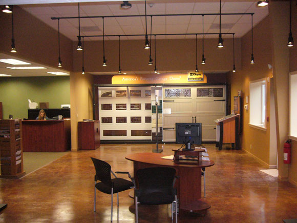 Clopay Showroom