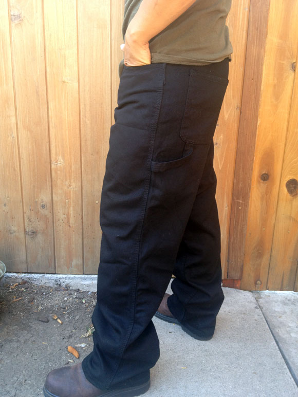 craftsman work pant side Craftsman Workwear: Twill Workpants