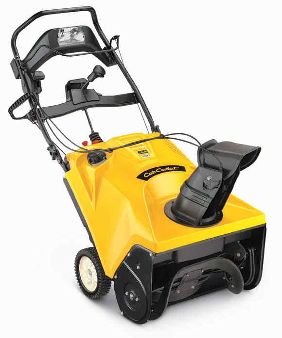 cubcadet single stage snowthrower How to Choose a Snow Thrower: Single or Two Stage