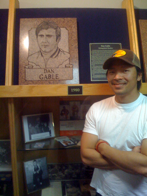 dan gable wrestling halloffame Primer on Amateur Wrestling: From Lincoln to Sanderson