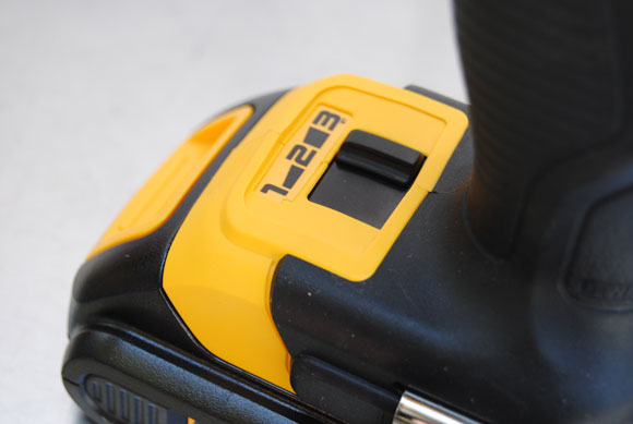 dewalt battery speed DeWALT 20V MAX Brushless Motor Impact Driver