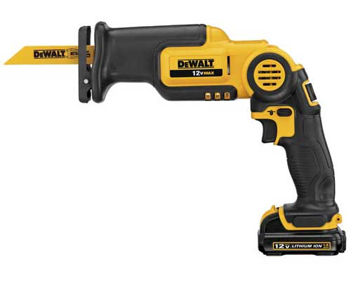 dewalt pivoting recip saw 12v DeWALT 12V MAX Pivot Recip Saw