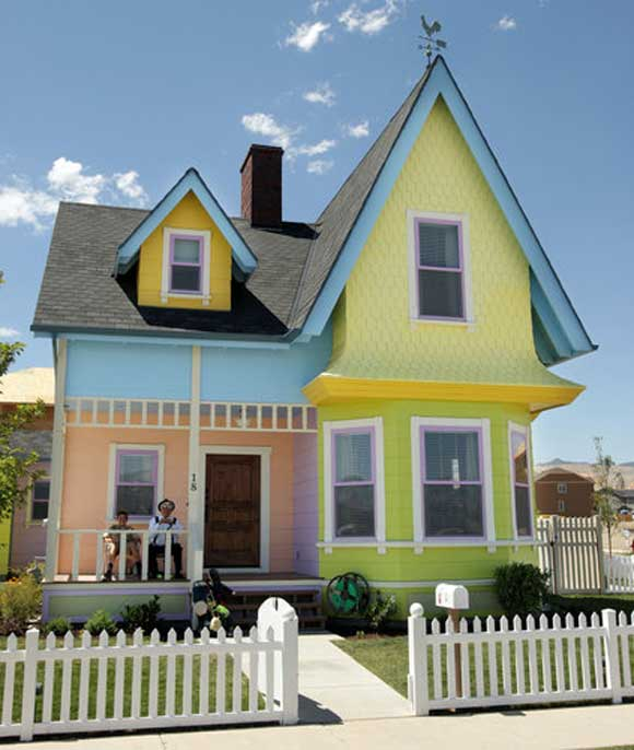 The Disney UP House Gets a Real World Treatment
