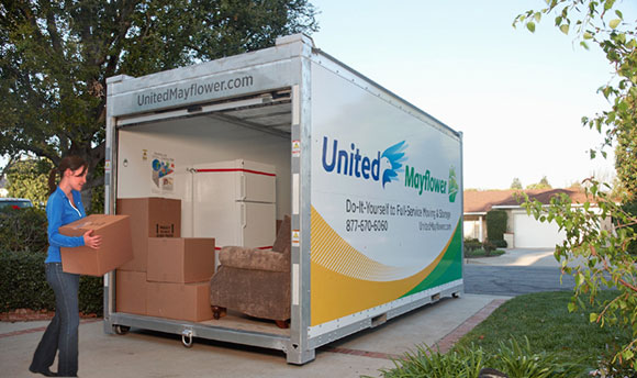diy moving United Mayflower Storage Container Giveaway