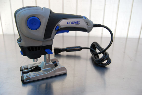 Dremel Trio Giveaway: One Tool to Cut, Sand and Rout