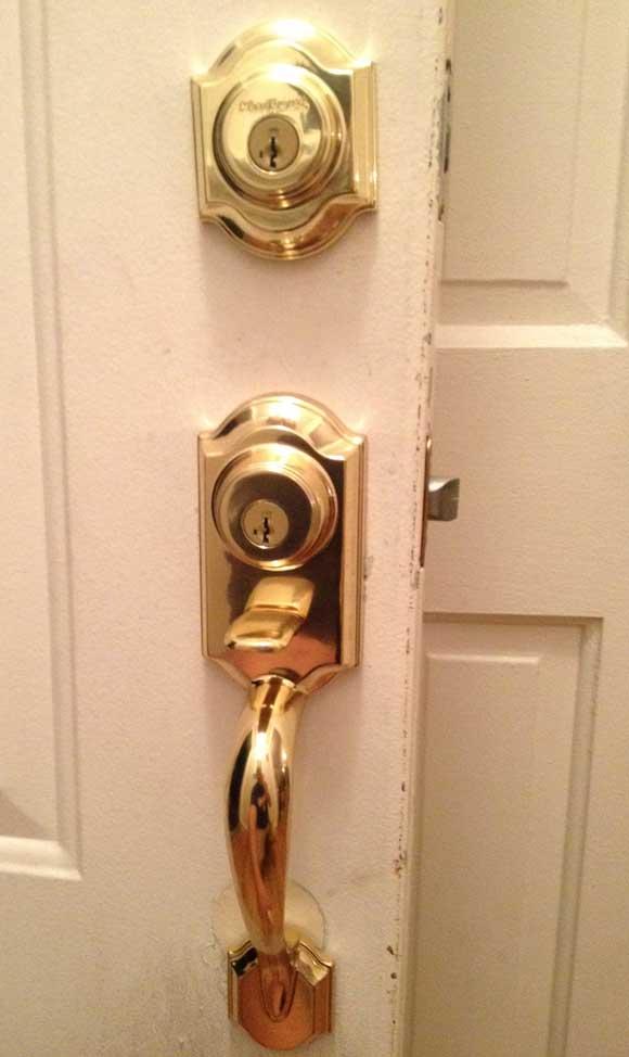 Kwikset Double Locked Handleset