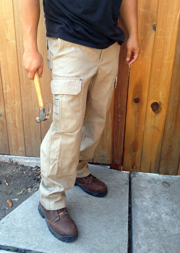 Duluth Firehose Work Pants are Wild Boar Resistant