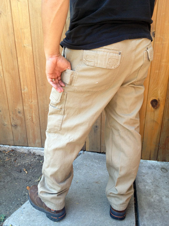 firehose workpants butt Duluth Firehose Work Pants are Wild Boar Resistant
