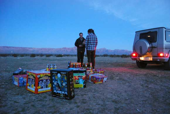 fireworks desert Fireworks Safety Tips To Ensure Everyone Has a Great Time