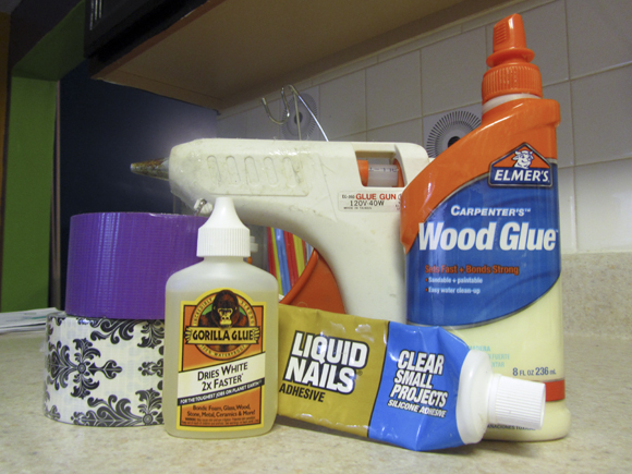 five glues The Five Emergency Adhesives Everyone Needs