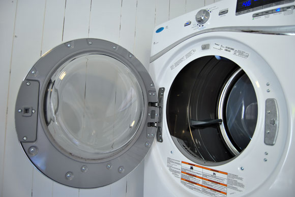 flip dryer door The Best Laundry Room Upgrades