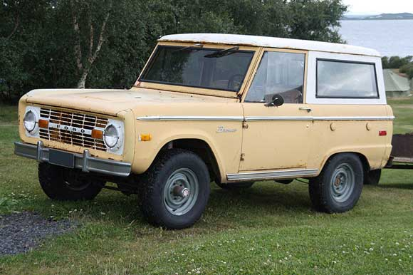 ford bronco Classic 4x4 Trucks That We Love