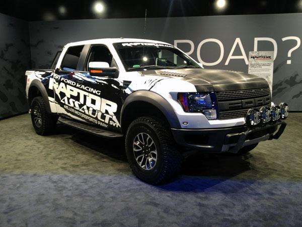 ford raptor LA Auto Show Kicks Into High Gear