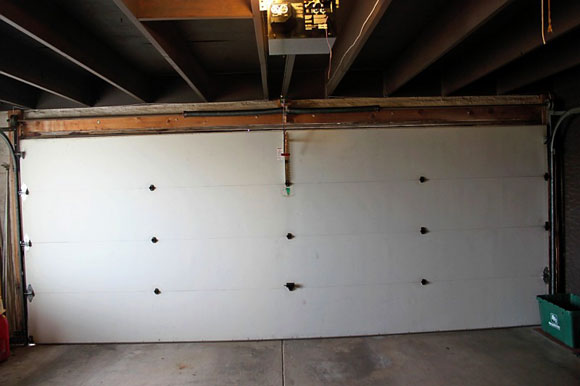 garage door before Clopay Garage Door: Easy to Design and Quick to Install
