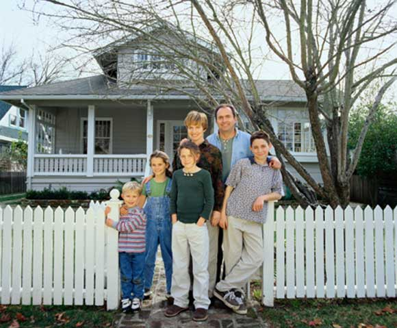 happy homeowners Family Advice for Surviving a Remodel
