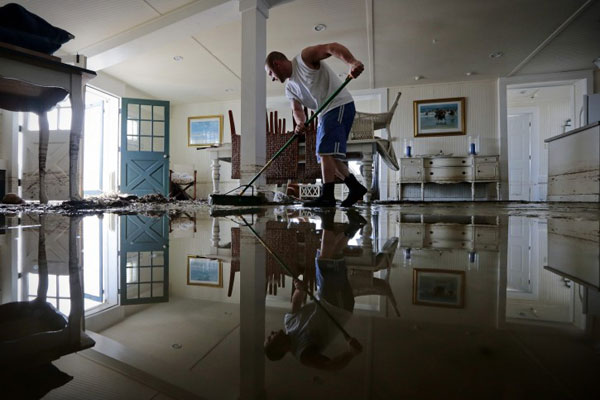 hurricane flooding sandy How to Deal with Water Damage After Flooding