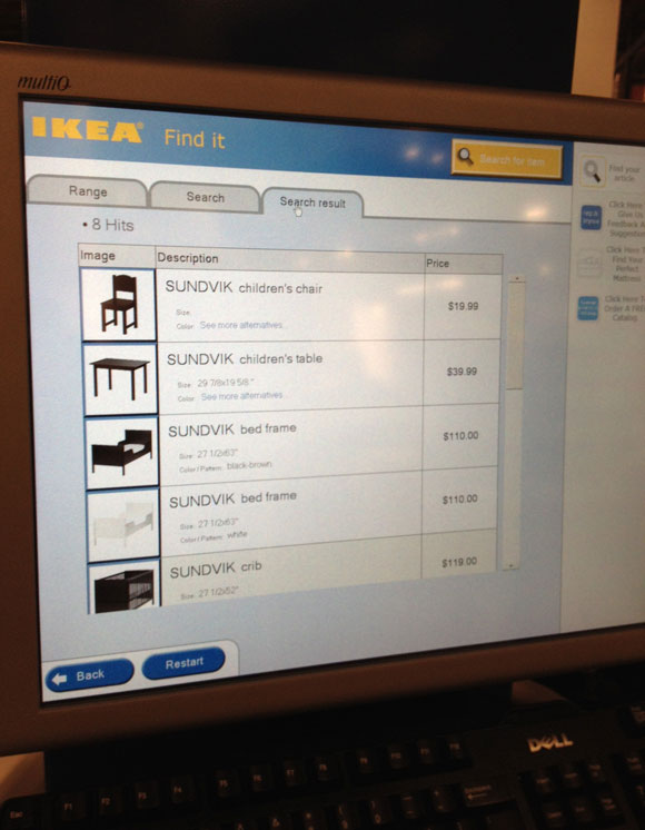 ikea kiosk Remember These Secrets for Shopping at IKEA