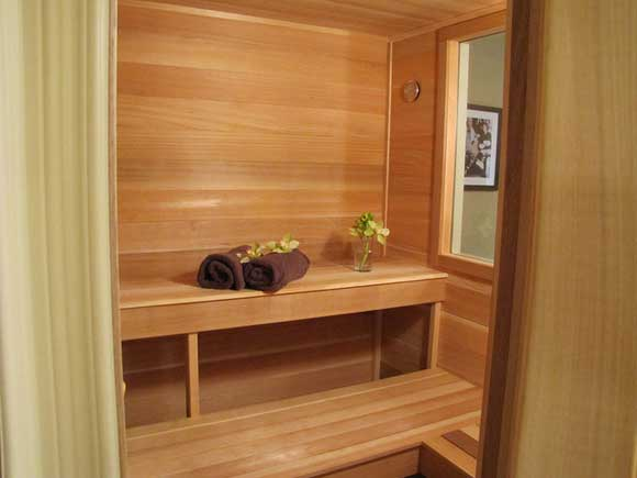 The joy of in home saunas for Make your own sauna at home