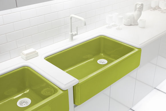 kohler adler green sink Jonathan Adler & KOHLER: A Match Made in Color