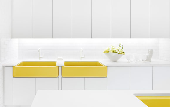 kohler adler yellow sink Jonathan Adler & KOHLER: A Match Made in Color