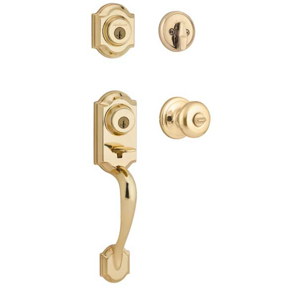 kwikset montara double lock Kwikset Double Locked Handleset