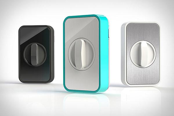 Lockitron: Smartphone Controlled Deadbolt Lock