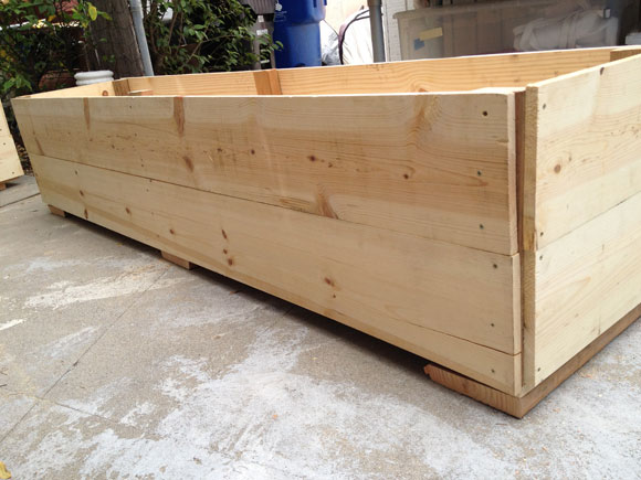 how to build wooden planter boxes 1