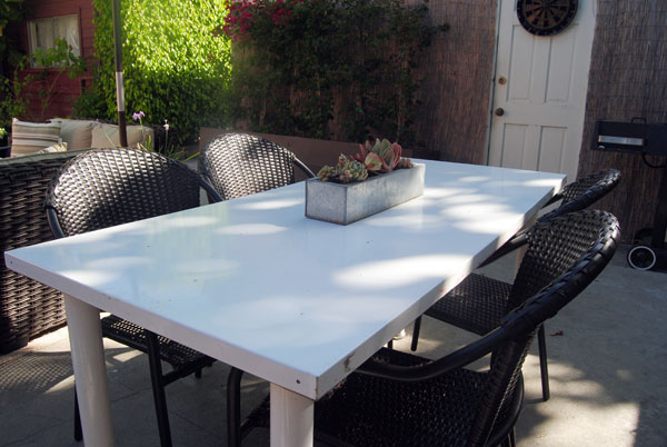 Cool lowes outdoor dining area