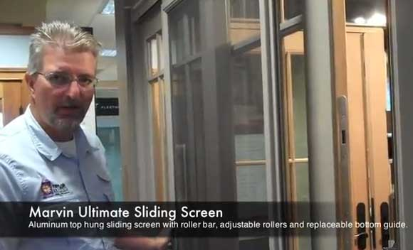 marvin window sliding screen Window Wisdom Video: Easy Cleaning and Added Security