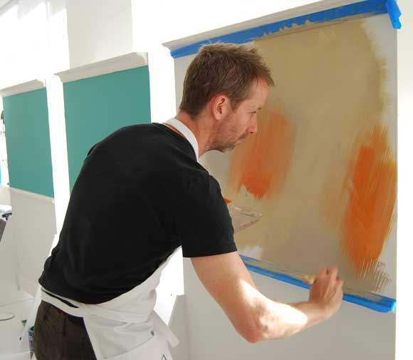 maxwell gillingham ryan apartment therapy valspar Nate Berkus Shows Us How to Mix It Up with Valspar Paint and Lowes