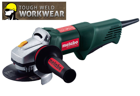 Tough Weld Giveaway: Metabo Angle Grinder + 10% Off Coupon Code