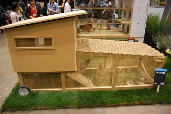 Dwell on design 2011 gets bigger and better for Modern chicken coop designs